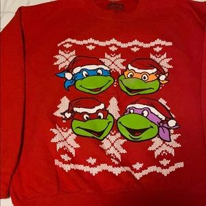 Ninja turtle Christmas sweater